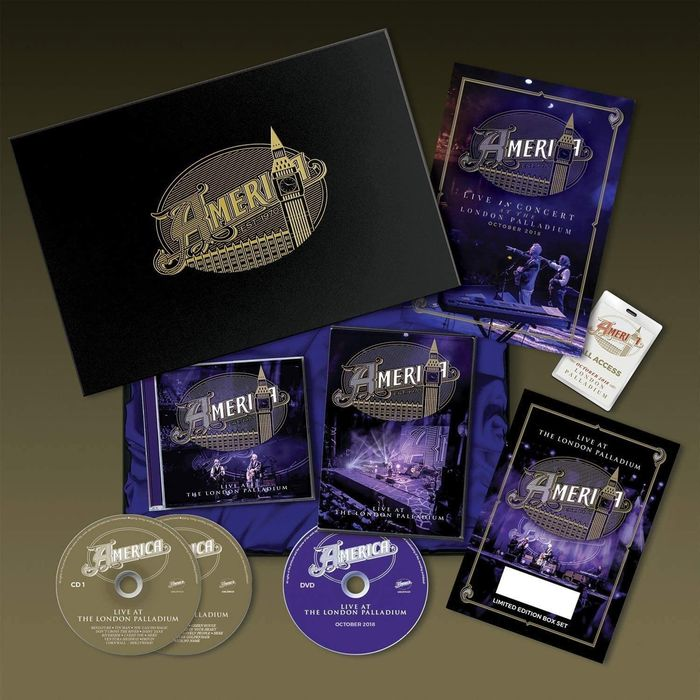 America - Live at the London Palladium-Box Set Limited and Numbered ed. with Signed and Numbered certificate - CD Box set, DVD Box set - 2019/2019