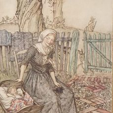 Signed; Arthur Rackham - Mother Goose The Old Nursery Rhymes [No. 141 of 1100 copies] - 1913