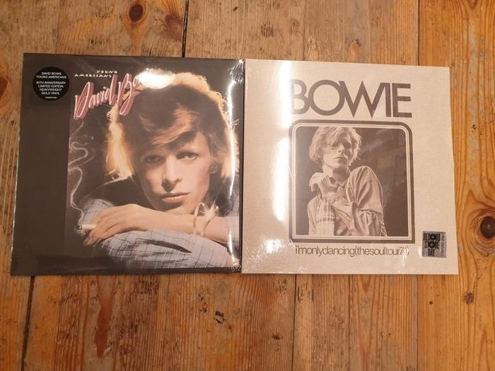 David Bowie - Young Americans || I'm Only Dancing (The Soul Tour 74) || Limited Edition - Diverse Titel - LP's - 2020
