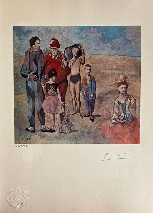 Pablo Picasso (1881-1973) - The Saltimbanques, 1905