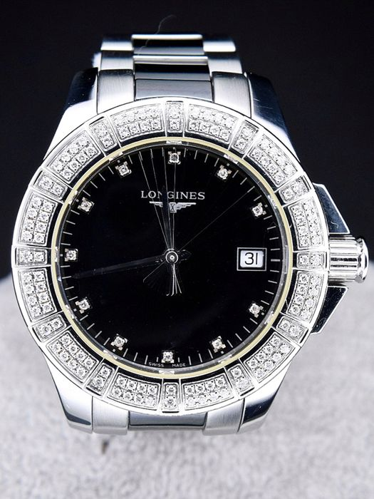 Longines - Conquest Ladies Diamond Bezel and Face - L3.280.0577 - Dames - 2017
