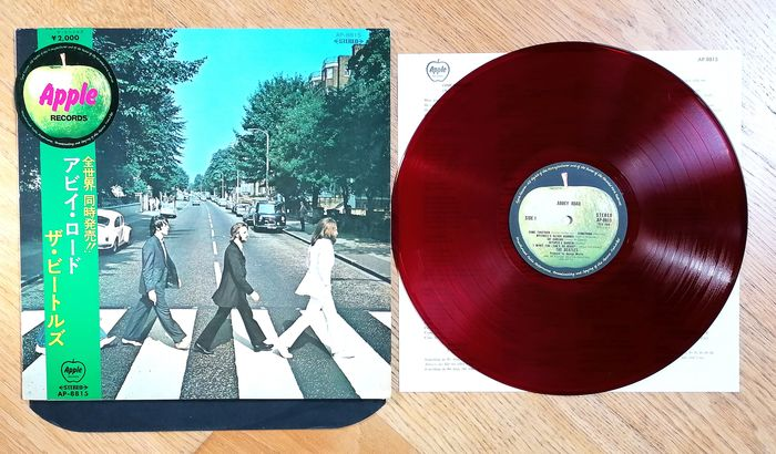 Beatles - Abbey Road. Japan 1st pressing - Album LP - 1969/1969