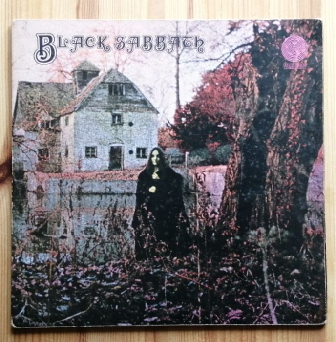 Black Sabbath - Black Sabbath - Album LP - 1970