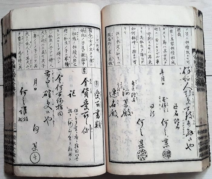 Nippon - Composition Letter Writing - 1880