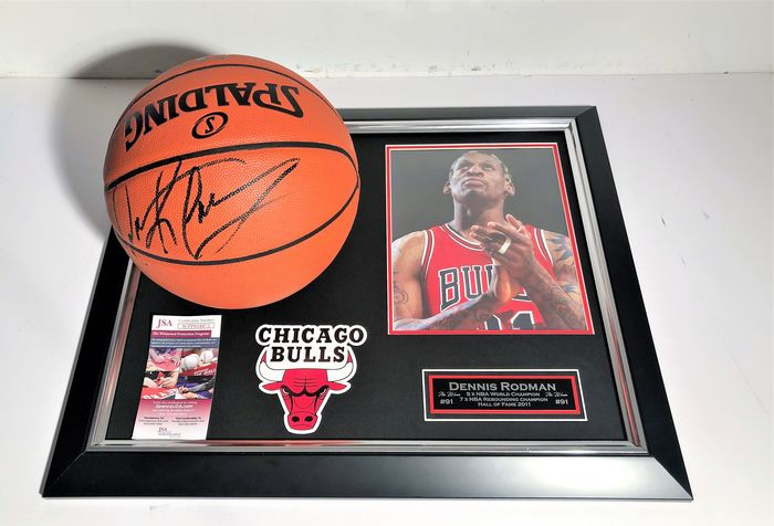 Chicago Bulls - NBA Basketball - Dennis Rodman - Basketball