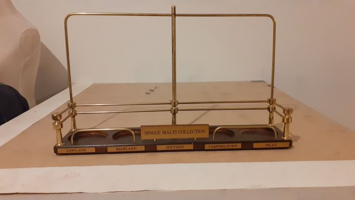 Single Malt Collection - Whisky Stand for 5 bottles - N/A