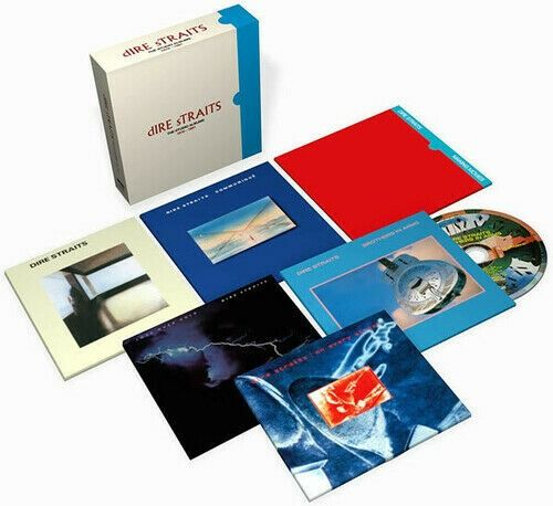 Dire Straits - The Studio Albums 1978 - 1991 - CD Boxset - 2020/2020