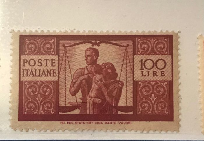 Italien Republik 1945/2002 - Complete collection of the period mounted on six albums