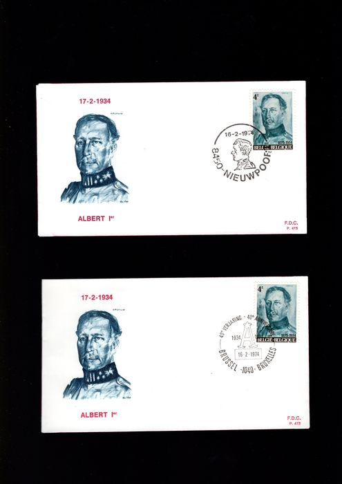 Belgium 1961/1999 - A batch of FDCs and letter covers - OBP / COB
