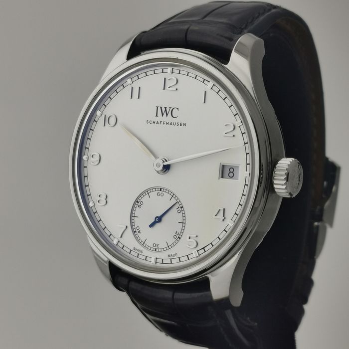 IWC - Portuguese Hand-Wound 8 Days - Ref. IW5102 - 03 - Hombre - 2011 - actualidad