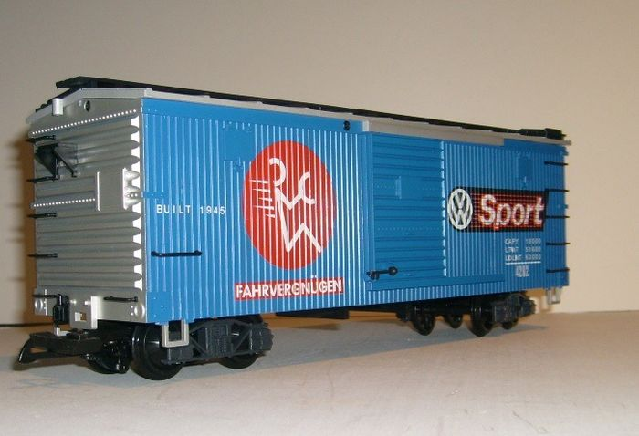 Image 3 of LGB G - 4290 VW - Freight carriage - Boxcar