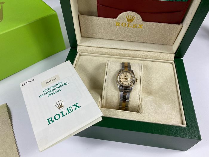 Rolex - Oyster Perpetual Datejust - Ref. 69173 - Femme - 1991
