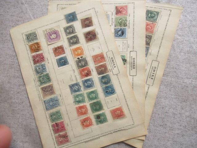 Chili 1852/1918 - A very large collection of stamps