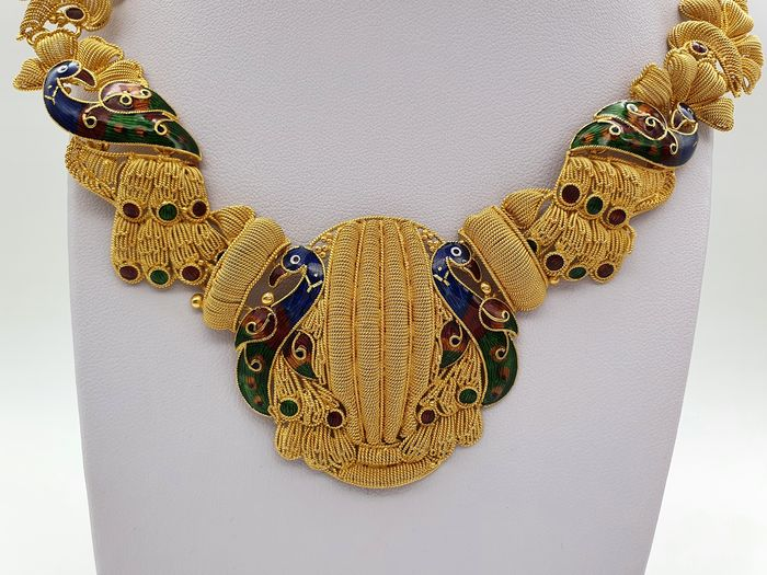 Image 2 of 22 kt. Yellow gold - Necklace