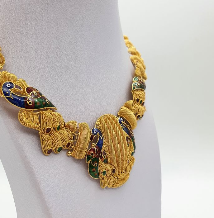 Image 3 of 22 kt. Yellow gold - Necklace