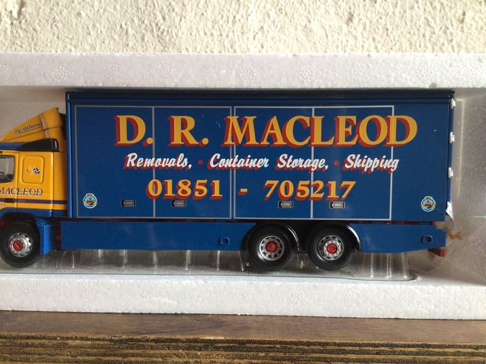 Image 3 of Corgi - 1:50 - Volvo FM Box Lorry D.R. Macleod Limited Edition Long Sold Out