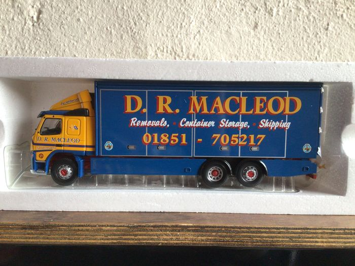 Preview of the first image of Corgi - 1:50 - Volvo FM Box Lorry D.R. Macleod Limited Edition Long Sold Out.