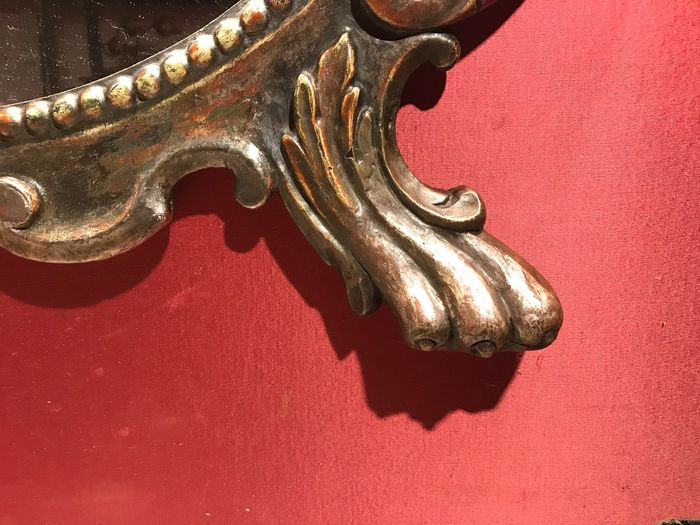 Image 3 of Cartagloria - Neoclassical - Lacquer, Silver, Wood - Early 19th century