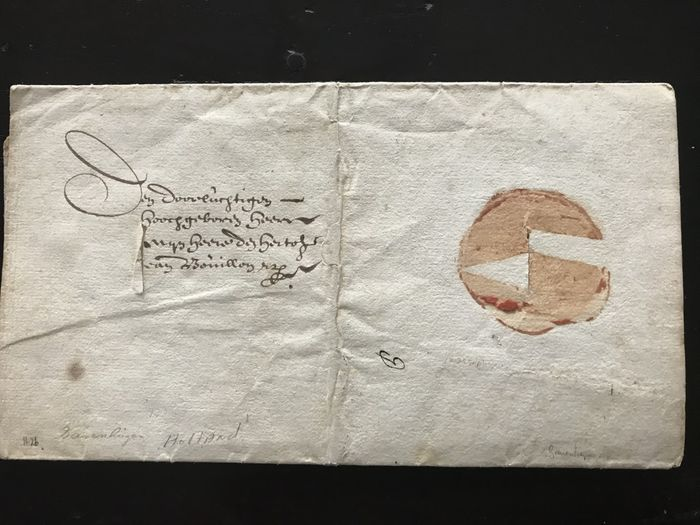 Image 3 of Maurits Huygens - letter on behalf of the Council of State to the Duke of Bouillon - 1626