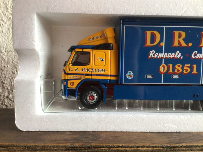 Image 2 of Corgi - 1:50 - Volvo FM Box Lorry D.R. Macleod Limited Edition Long Sold Out