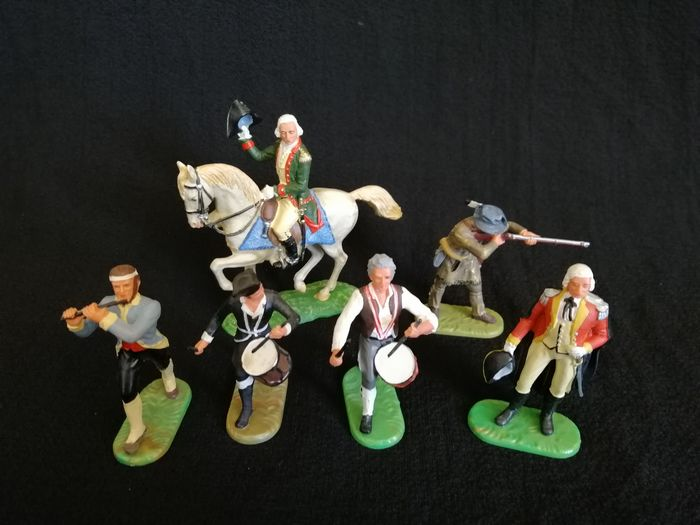 Preview of the first image of Elastolin - Figure Washington Regiment - 1970-1979 - Germany.