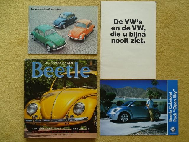 Preview of the first image of Books - Volkswagen Beetle / Kever / Coccinelle - VOLKSWAGEN - 1970 - 2003.