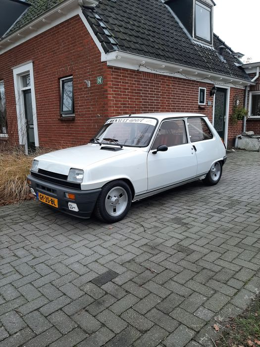 Renault - 5 Alpine 1223 Coupe (cup) - 1981