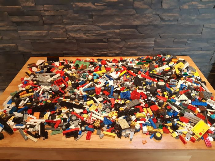 Preview of the first image of LEGO - Assorti - 3.5 KG - Loose parts.