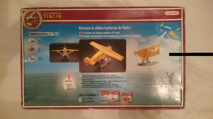 Image 3 of Meccano - seaplane and jeep