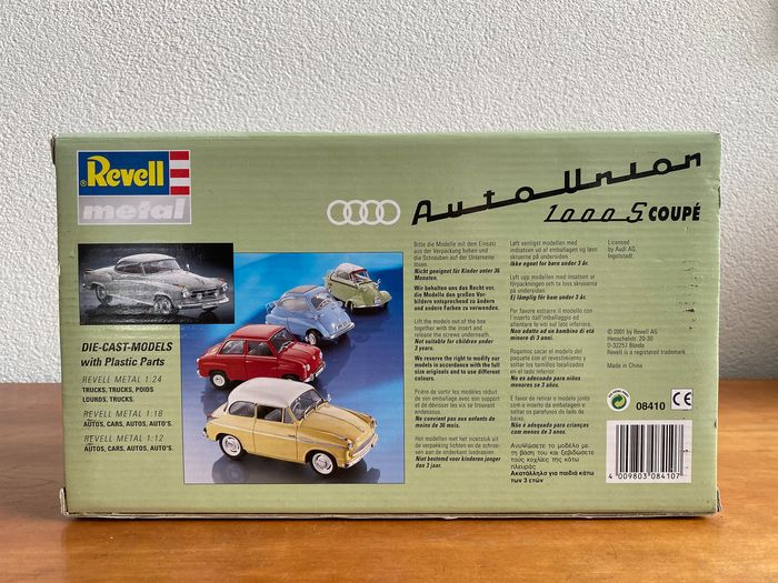 Image 3 of Revell - 1:18 - Audi 1000 S Coupé