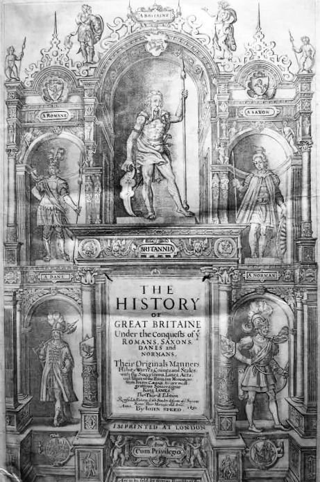 Image 2 of John Speed - History of Great Britaine - 1650