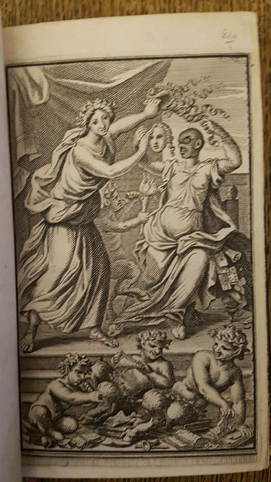 Preview of the first image of Nicolas Boileau-Despreaux - Satires de Sieur D*** - 1669.