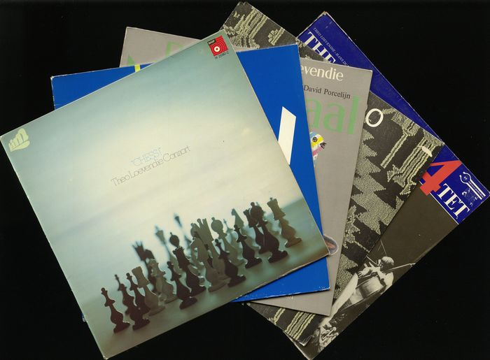 Theo Loevendie (Consort) - Five albums by this Dutch composer and artist - Diverse titels - LP's - 1972/1983