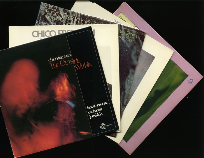 Chico Freeman - Five albums by this modern jazz tenor saxophonist and trumpeter - Diverse titels - LP's - 1978/1983