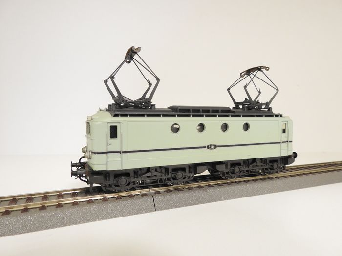 Preview of the first image of Rivarossi H0 - 1670 - Electric locomotive - Turquoise 1116 - NS.
