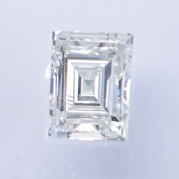 1 pcs Diamante - 0.22 ct - Asscher - H - VS1   IGI Antwerp Certified  ** No Reserve Price **