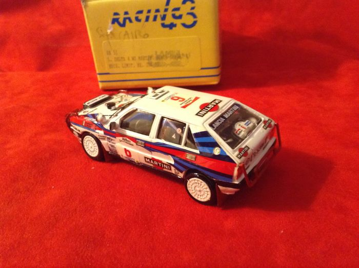 Preview of the first image of MERI KITS Automodelli- made in Italy - 1:43 - Lancia Delta HF 4WD GrA Team Martini Racing winner Sa.