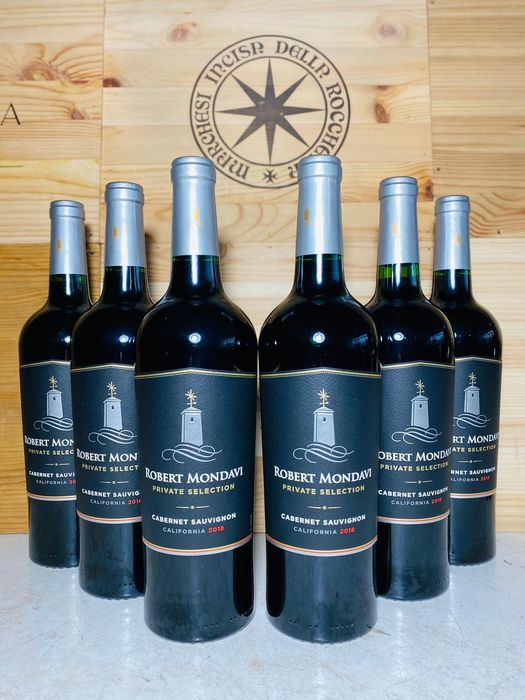 2018 Robert Mondavi 'Private Selection' Cabernet Sauvignon - Californië - 6 Flessen (0.75 liter)