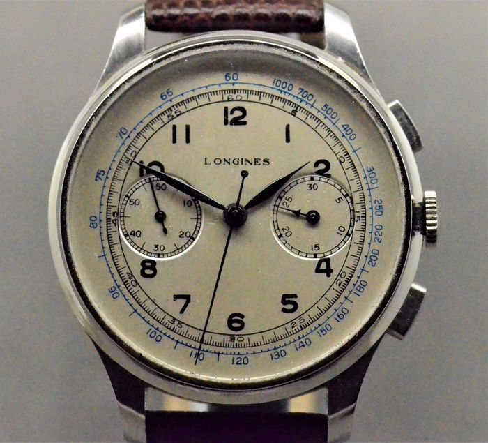 Longines - 13ZN Fly Back Chronograph - 21390 - Homme - 1901-1949