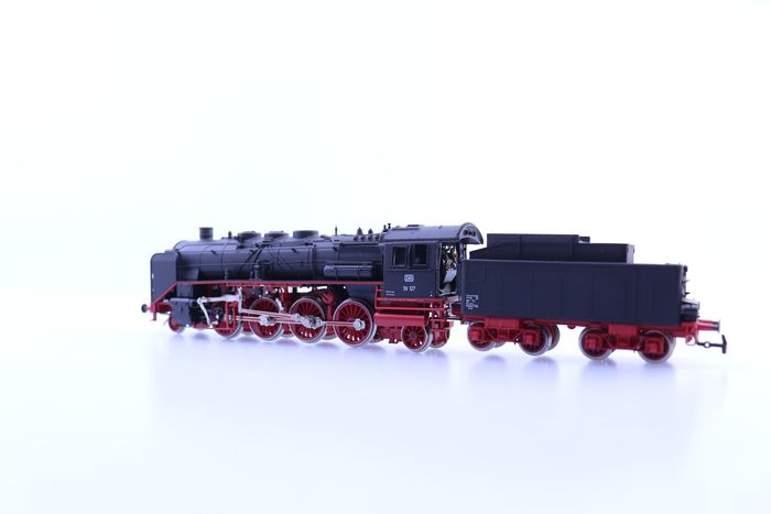 Image 3 of Rivarossi H0 - 1345 - Steam locomotive with tender - BR 39 - DB