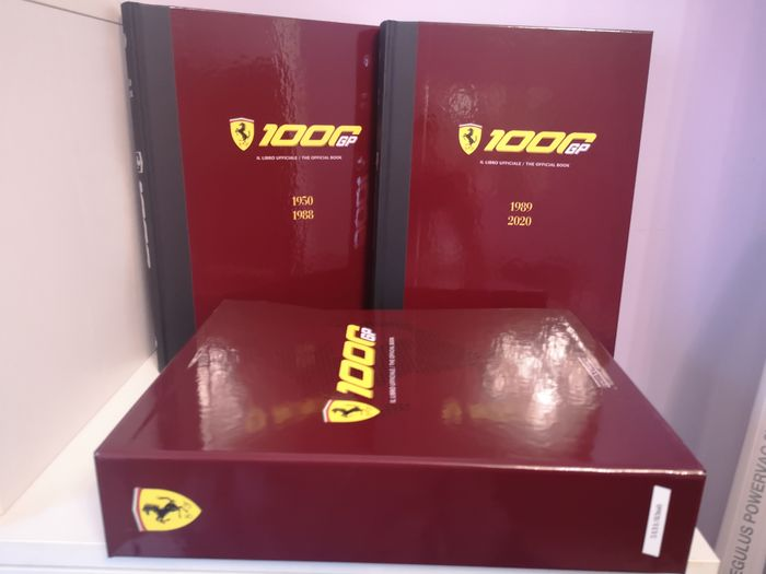 Boeken - 1000 the official book Ferrari 1950-2020 cavallino rampante - Ferrari