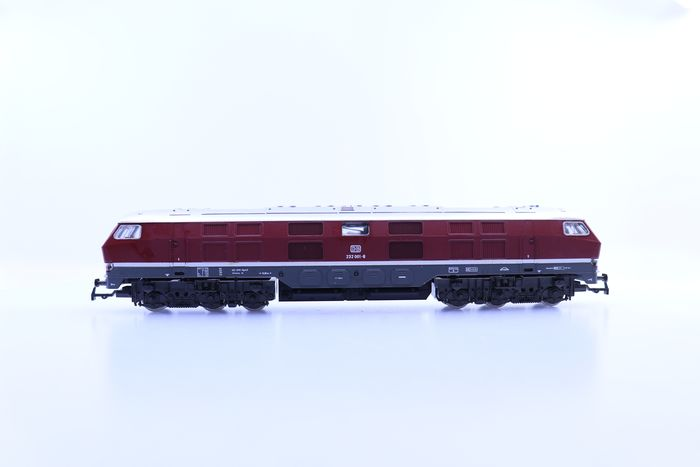 Preview of the first image of Rivarossi H0 - 1996 - Diesel locomotive - BR 232 - DB.