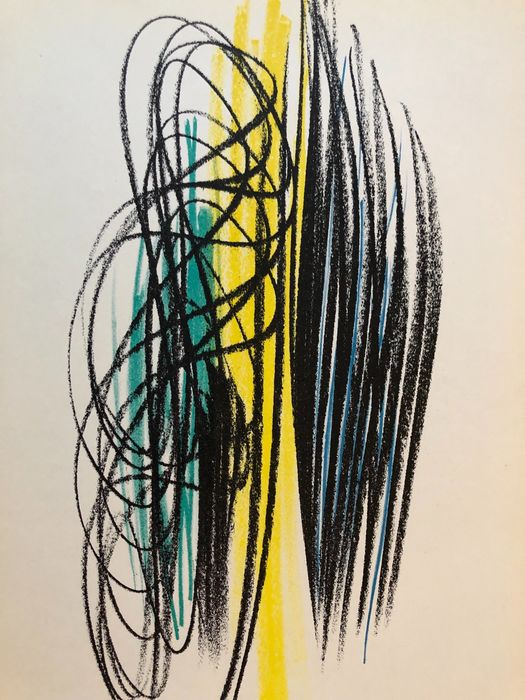 Hans Hartung - Untitled - Stampa