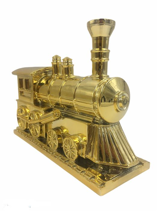Alessandro Piano - Alter Ego Express Gold - SCULPTURE - LEGO  Train Game Luxury AlePianoArt