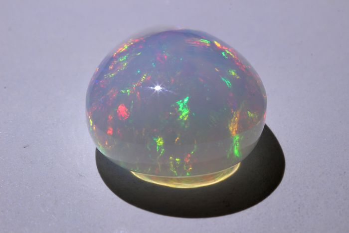 No Reserve Price - Intense colors - Fine Color Quality Opal - 27.94 ct