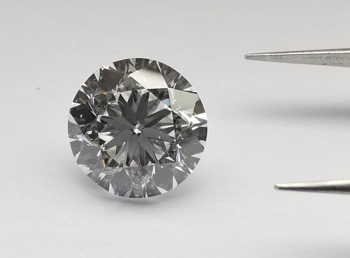 1 pcs Diamante - 3.01 ct - Brillante - D (incoloro) - IF (Inmaculado)