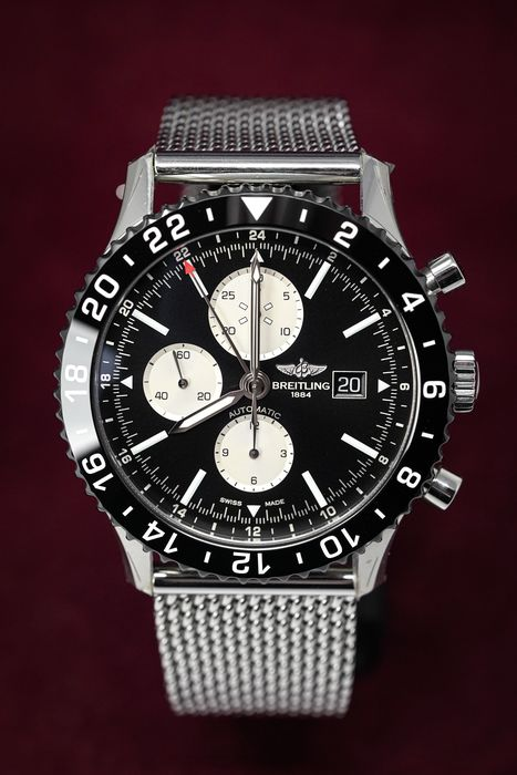 """Breitling - Chronoliner """"NO RESERVE PRICE"""" - Ref. Y2431012/BE10/152A - Homme - 2011-aujourd'hui"""