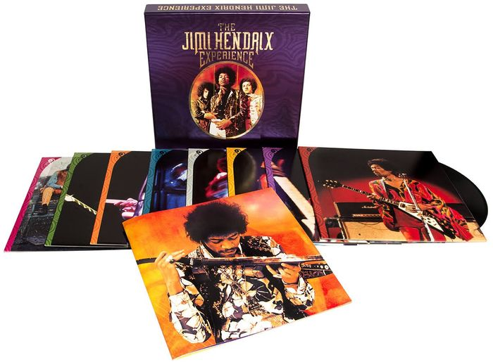 Jimi Hendrix Experience - The Jimi Hendrix Experience - 8 LP Box Set with 56 unreleased or unavailable recordings - Différents titres - Coffret, LP album, LP Box Set, LP's - 2017/2017