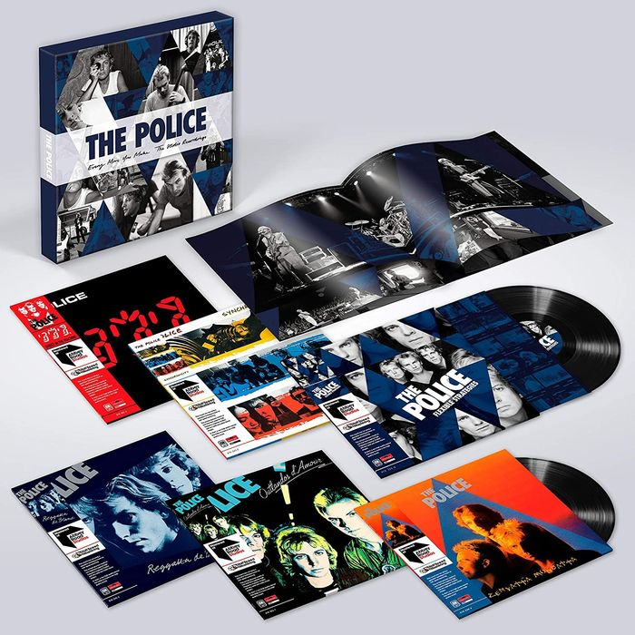 Police - Every Move You Make (The Studio Recordings) 6xLP 180 gr. Limited ed. - LP Box set - 2018/2018