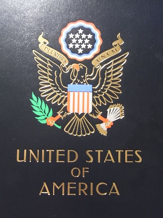 United States of America 1993/1999 - Almost complete in Luxe DAVO-Album with slipcase.